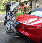 Mercedes SLK Bike Rack